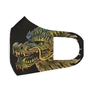 開運麒麟 Full Graphic Mask
