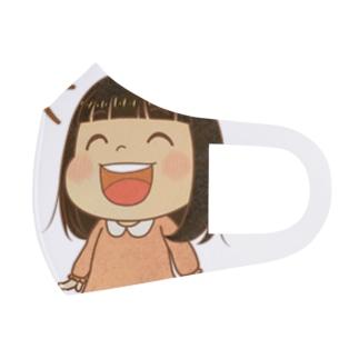 Rikoちゃん(ピンク) Full Graphic Mask