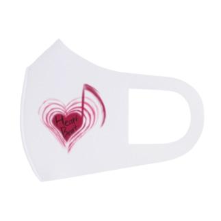 HeartBeat Full Graphic Mask
