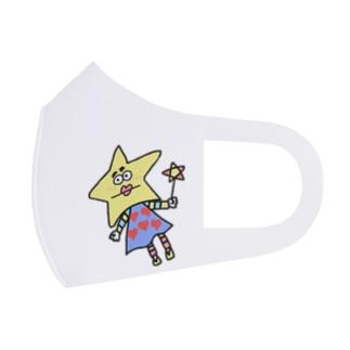 星くん Full Graphic Mask