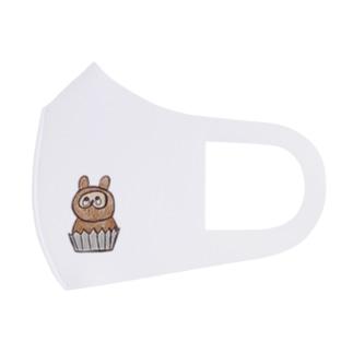 たぬきのケーキ Full Graphic Mask