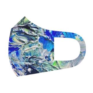 海砂利水魚 Full Graphic Mask