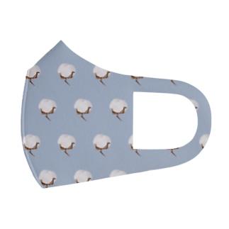 十分に広い店の綿花 Full Graphic Mask