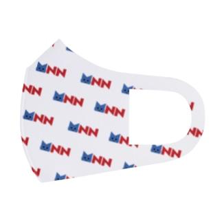 MNN マスクにゃんニュース Full Graphic Mask
