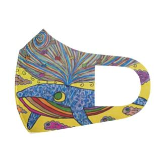 海 Full Graphic Mask