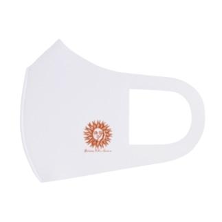 Gyoza Solar Flear Full Graphic Mask