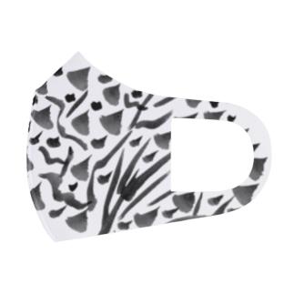 燃ゆ Full Graphic Mask
