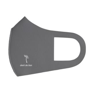 綿毛ロゴ Full Graphic Mask