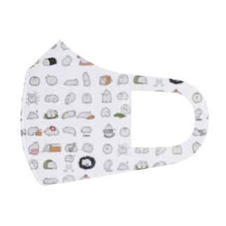 いっぱい毛玉ちゃんMAX Full Graphic Mask
