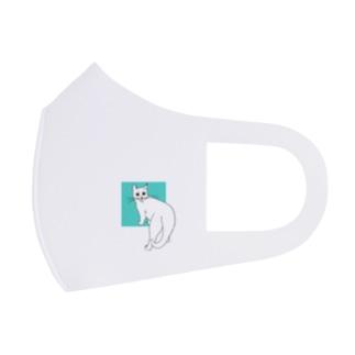 猫のカイ 4 Full Graphic Mask