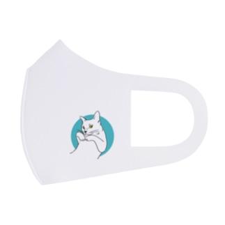 猫のカイ 5 Full Graphic Mask
