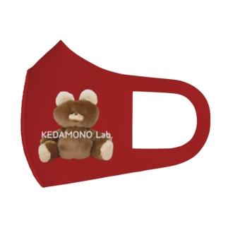 むくみちゃんマスクRED Full Graphic Mask