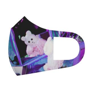 kmakici x mirror Full Graphic Mask