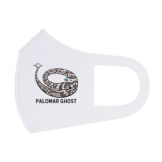 おバカリキン★パロマーゴースト フルグラフィックマスク Full Graphic Mask