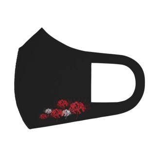 真夜中の彼岸花 Full Graphic Mask
