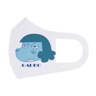 夏のガウ子 Full Graphic Mask