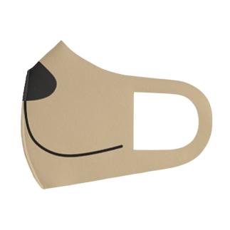 マズル(ゴールデン) Full Graphic Mask