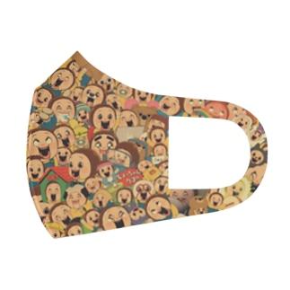 Sho-chan's Noisy Mask / しょーちゃんのうるさすぎるマスク Full Graphic Mask