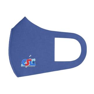 CSLマスク BLUE Full Graphic Mask