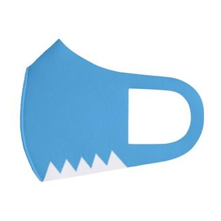 新選組*だんだら*誠(blue) Full Graphic Mask