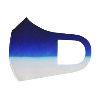 ghostpiaフルグラフィックマスク - 雪の砂漠 - Full Graphic Mask