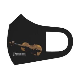 アートバイオリン Full Graphic Mask
