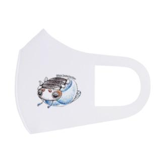 ビーダマムシ・青 Full Graphic Mask