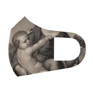 母子像 Full Graphic Mask