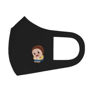 Sitting Sho-chan / たいいくすわりしょーちゃんマスク Full Graphic Mask