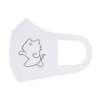 猫パンチ Full Graphic Mask