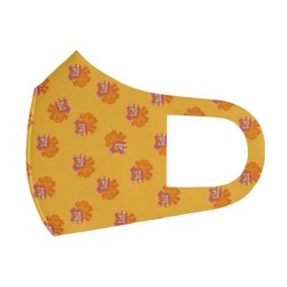 シーサーマスク オレンジさー Full Graphic Mask