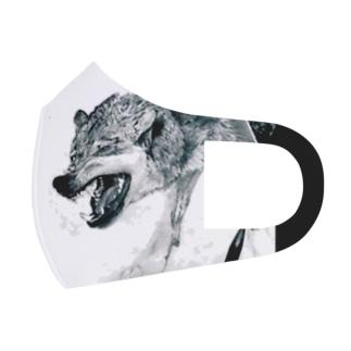 狼 Full Graphic Mask