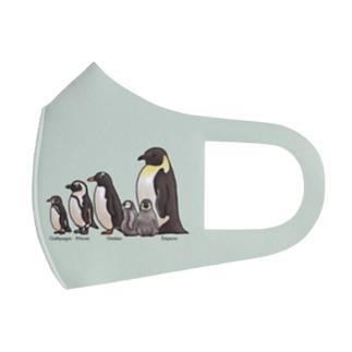 ペンギンだらけ Full Graphic Mask