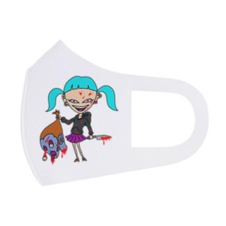 キル子 Full Graphic Mask