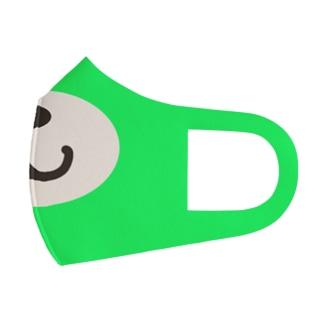 緑のクマになる Face Mask
