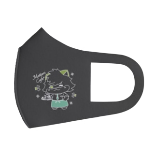 まったりカフェのフミヒロ Full Graphic Mask