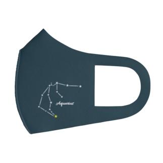 星座マスク(みずがめ座) Full Graphic Mask