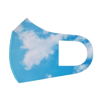 空のマスク。 Full Graphic Mask