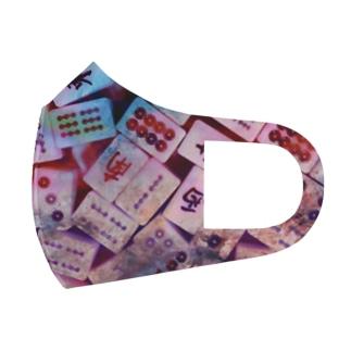 めっちゃ麻雀好きな人のためのやつ Full Graphic Mask