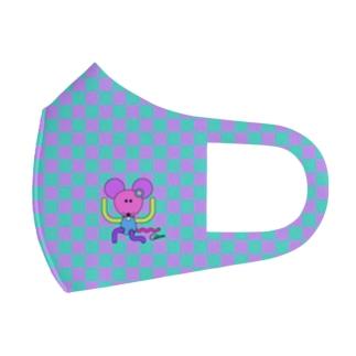 ねずみちゃんマスク Full Graphic Mask