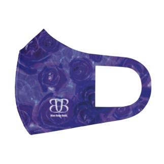 full graphic mask purple Full Graphic Mask