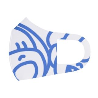 べにちゃんあいちゃんマスク Full Graphic Mask