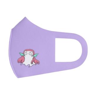 Siropus Cat アマビエ(紫) Full Graphic Mask