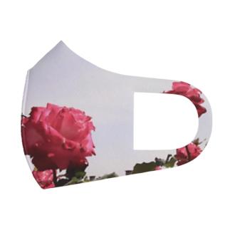 ばらばら Full Graphic Mask