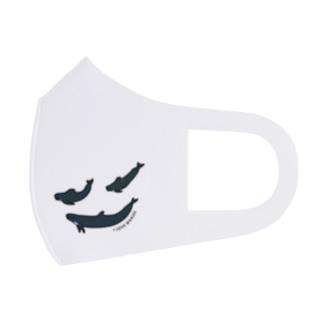 ゴンドウクジラ・マスク Full Graphic Mask