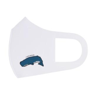 マッコウクジラ・マスク Full Graphic Mask