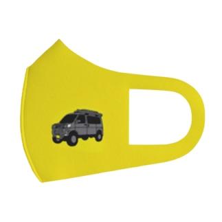 黄色 Full Graphic Mask