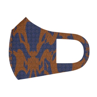 Space monster x3 Full Graphic Mask