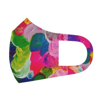 ますく Full Graphic Mask