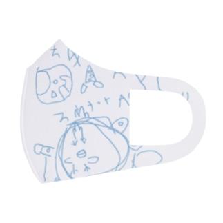 にわとりパーティー20210509 Full Graphic Mask